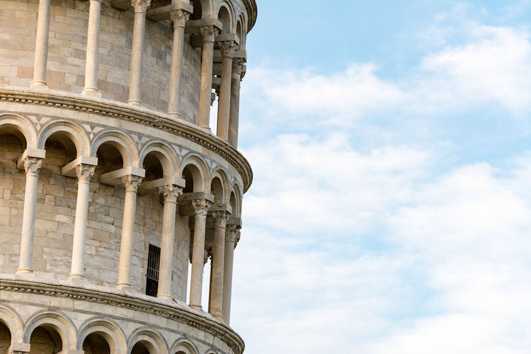 Leaning Tower Of Pisa Against Sky