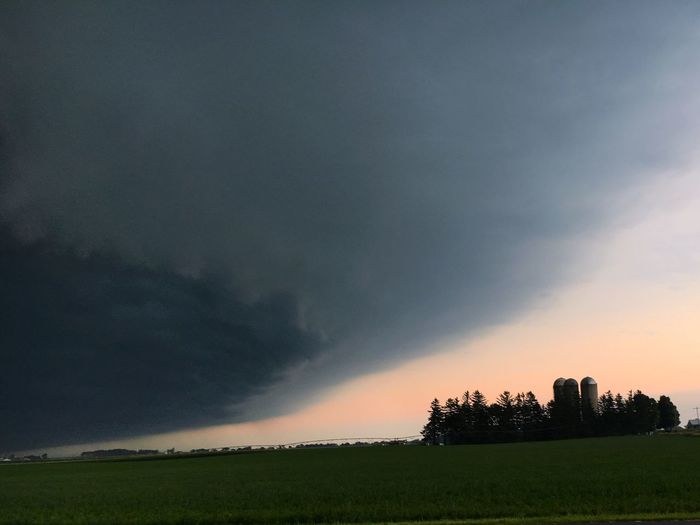 Farm Storm Sky