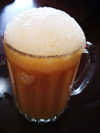 Cause Of Heart Attack Heart Attack Waiting To Happen Sweettooth Caused Of High Blood Pressure Hot Beverage Teh Tarik Sweet Drink Made By Tea Heaven On Earth Milktea Frothy Drink Drink Drinking Glass Coffee - Drink Close-up Food And Drink Non-alcoholic Beverage Hot Drink Froth Art Foam