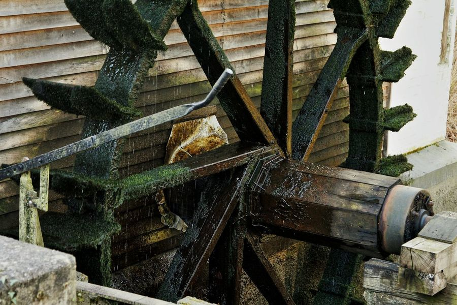Mill Wheel Water Mill Machinery Dalheimer Mühle Heinsberg Germany