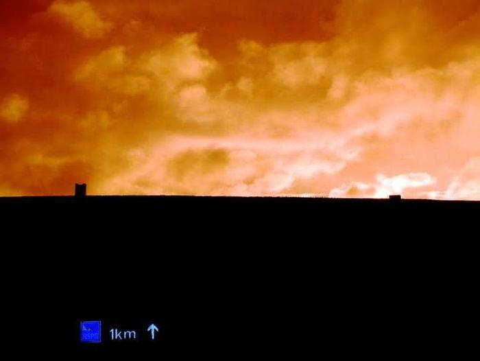 Fireinthesky Broughofbirsay Johnnelson Sunset Scotland Orkneyislands Lifeasiseeit Island Life Light And Shadow Scottish Weather!!!