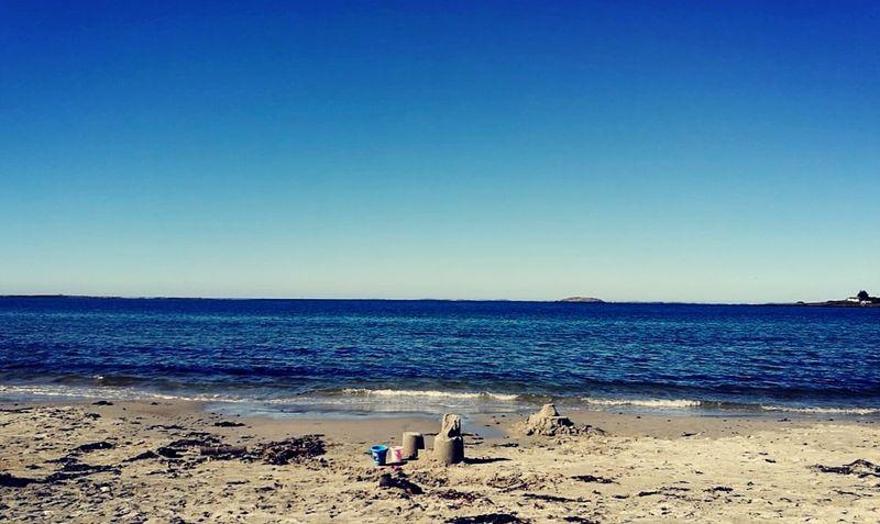 Last beachday of 2016? Beach Sea Water Southwest  Norway Randaberg Crisp Clear Sky Beauty In Nature Icecoldsea Family First Eyeem Photo