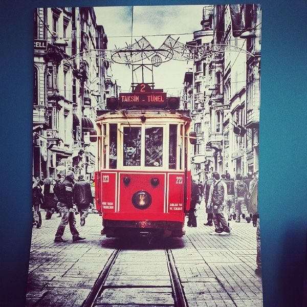 Mywall Taksim Red Love