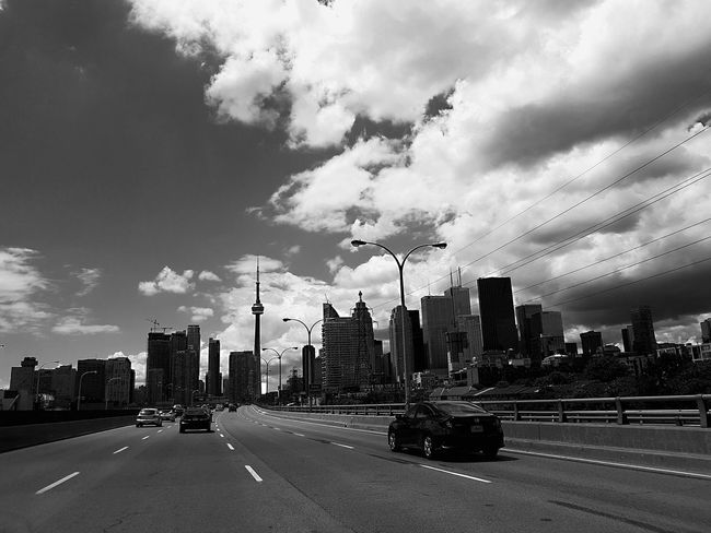Dream Highwaytoheaven Hanging Out Taking Photos Check This Out Hello World Photography BLCK&WHT Cntower Highwayphotography Summertime Gardiner Expressway Toronto Highway