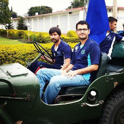 Sports Week COMSATS Attock Campus. Comsats Comsatsatk Sports SportsGala2014 attock university students management selfie 2014 army jeep instapic