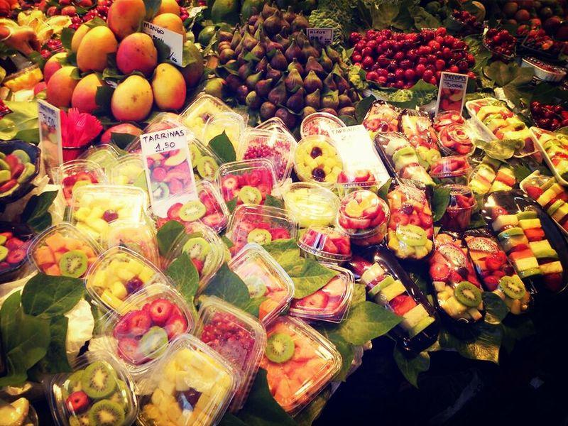 i love Tutti Frutti Mercat De La Boqueria Barcelona