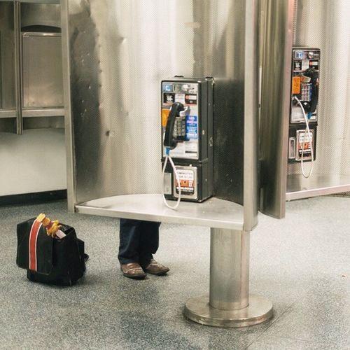 | Arrival Call | NYC Newyork Pennstation Streetamatic phonebooth urban igny ignyc amtrack subway instantnyc instagood bestoftheday photooftheday
