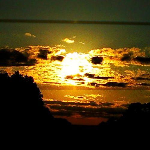 An east Texas sunset.