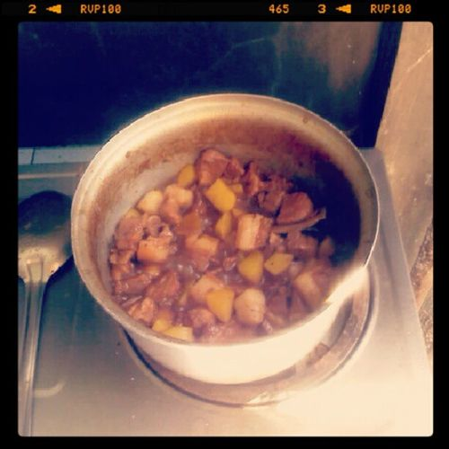 lunch is ready! HappyTummy ICooked Porkadobo Instapic