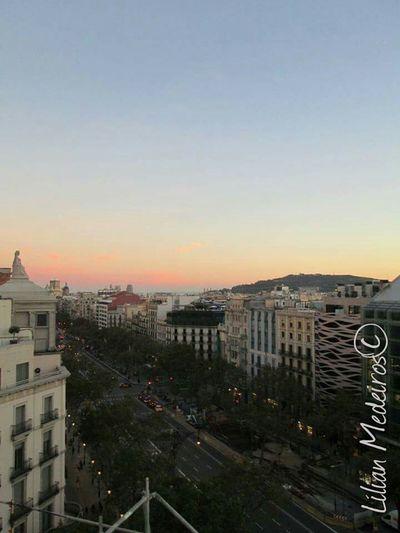 City Sunset No People Viagem Lapedrera History Barcelona♡♥♡♥♡ Espanha España Reflexão  Nature Vacations Landscape
