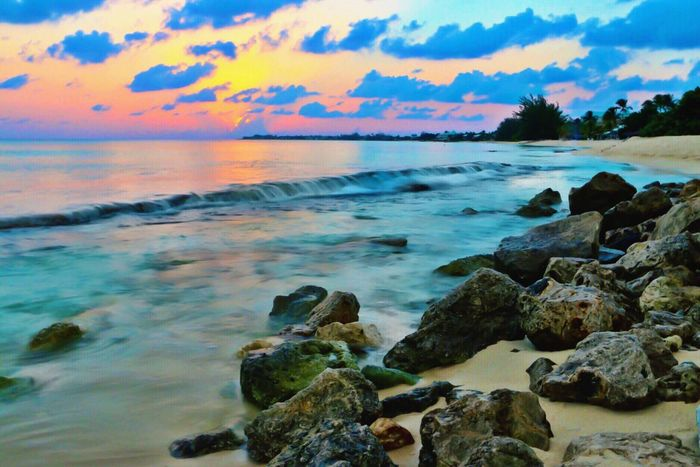 Cayman Cayman Islands Caymanwaves Mossy Island In Bahamas Bahamas Sevenmilebeach Tropical Paradise Tropical Island Tropical Beach Tropical Beauty Clear Waters Island Sunset Tropical Sunset