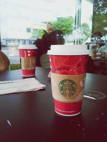 Throughmyeyes Eyeemcoffee Drinking Starbucks