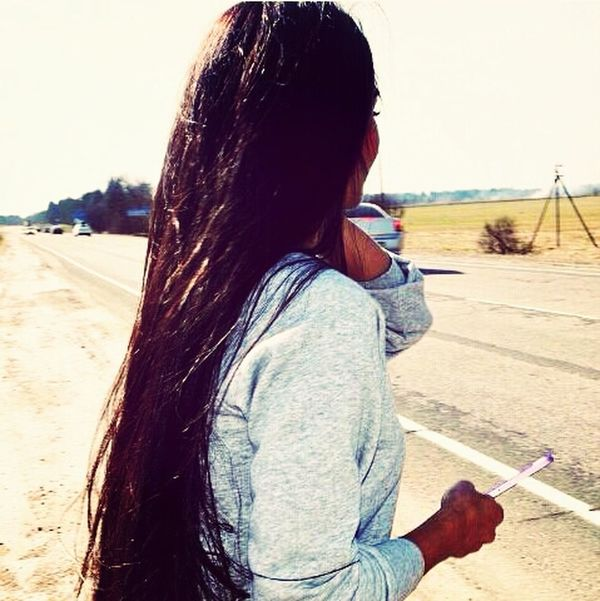 That's Me On The Road Hairstyle Long Hair