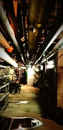 steam lines and spare parts Steam Generation Utility Plant Industrial Pipes EyeEmNewHere Basement Ceiling Architecture Built Structure