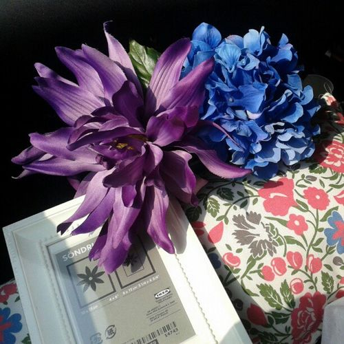 Memories from Ikea :)). IKEA Shopping Decoration Artificialflowers