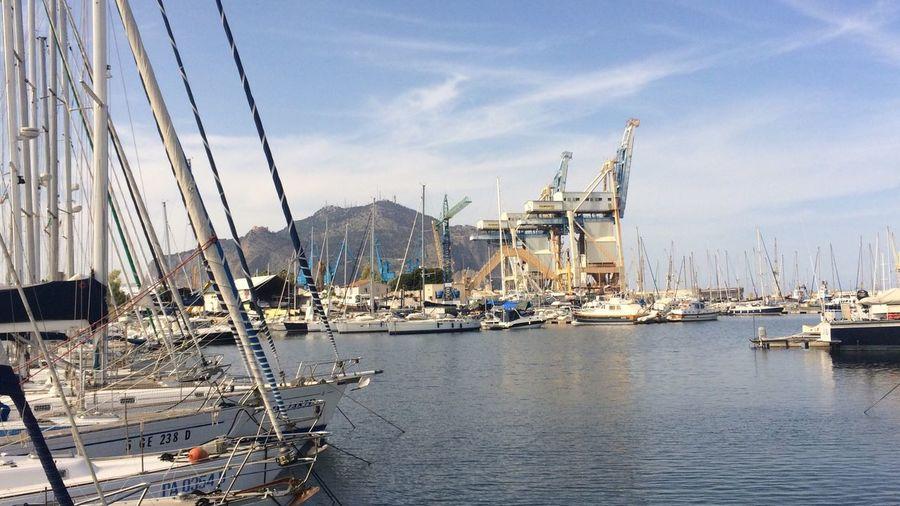 EyeEm Selects Nautical Vessel Transportation Water Mode Of Transportation Sky Sailboat