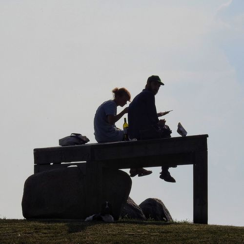 Picnic Check This Out Hanging Out Relaxing Enjoying Life Peaceful Skåne Sweden Couple Chilling