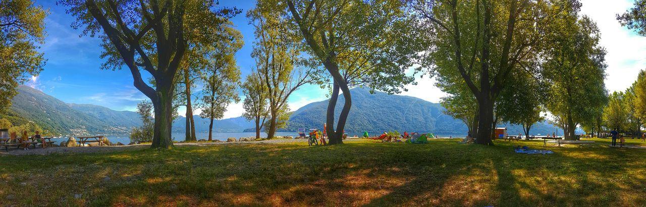 Some beach time! ⛱😎 Spiaggia Cannobio Lago Maggiore Lake Maggiore Summer Views Lake Swimming