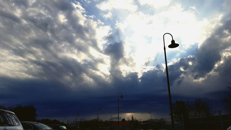 Showcase April Darkness And Light Perspective Blue Power Weather Cloudy Cloudscape Dramatic Sky Cloud - Sky Sunset Storm Cloud Silhouette Light And Shadow One Step Away From You ...... Sunlight Low Angle View Beautiful Day Beauty In Nature Blue Clouds And Sky