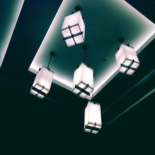 Lights Chandelier Interior Your Design Story Photography Art Blue Lookingup Lookup