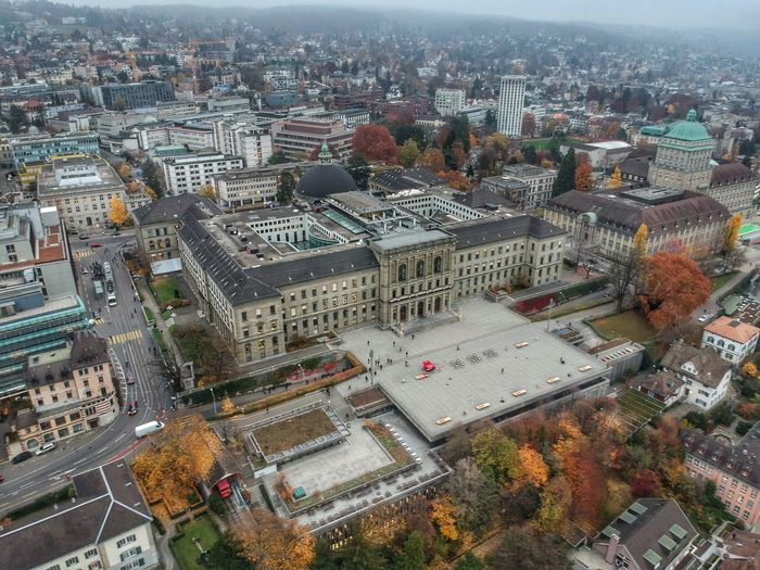 ETH University - Zurich, Switzerland 2018 Dji Spark Dronephotography DJI X Eyeem Switzerland Building Exterior City Architecture Built Structure Cityscape High Angle View Building Transportation Day Residential District City Life Aerial View Tree Plant Outdoors Office Building Exterior Crowd Crowded Nature