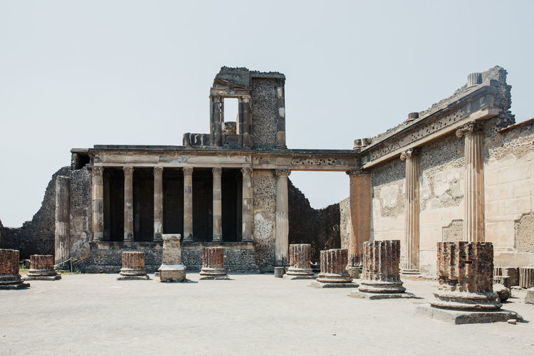 Pompeii  Ruins Ruins Architecture Pompeii Ruins Italy Architecture Built Structure Building Exterior History The Past Ancient Civilization Ancient Old Ruin No People Architectural Column Damaged Obsolete Abandoned Old Travel Destinations Archaeology Outdoors Deterioration Ruined Ancient History