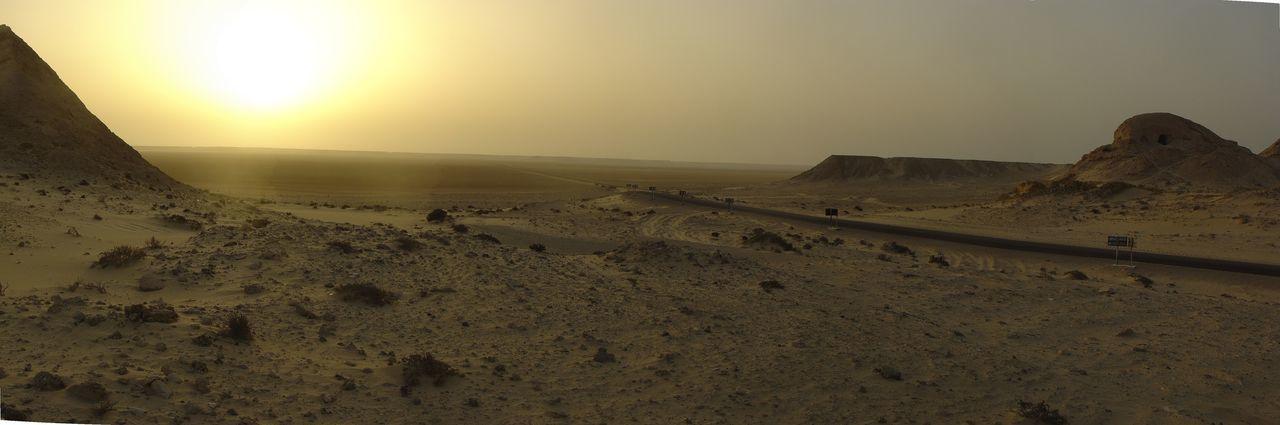 Sand Dune Sunset Desert Sand Sunlight Sky Landscape Arid Landscape