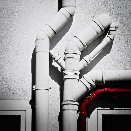 Deviation from the norm. Architecture Attached Built Structure Close-up Connected Paths Connected Pipes Connection Connections Day Deviating From The Path No People Outdoors Path To Nowhere Paths Paths Of Life Pathway Pathways Pipe - Tube Pipeline Protection Water Pipe Mix Yourself A Good Time The Graphic City Visual Creativity Plastic Environment - LIMEX IMAGINE The Still Life Photographer - 2018 EyeEm Awards The Creative - 2018 EyeEm Awards Creative Space