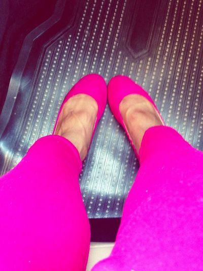 Hot pink!!
