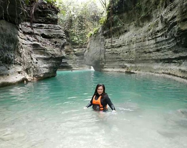 Ilovecebu Trust Yourself Adventuretime Canyoneering Canyoning Your life Is A Result Of The Choices You Make... If You Don't Like Your Life It Is Time To Start Making Better Choices. Solitude Body Of Water Nofilter