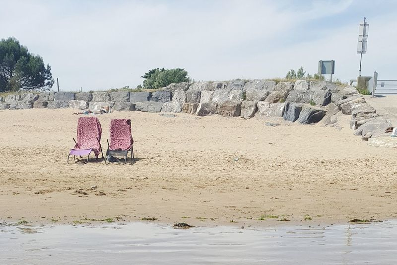 Sand Swimming Beach Beauty In Nature Sky British Beaches Deck Chair Staycation Deckchairs Your Ticket To Europe
