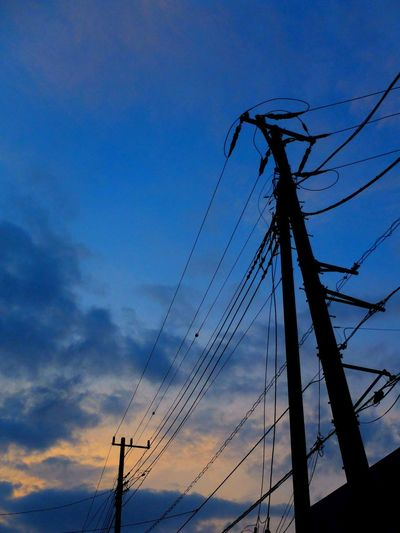 お疲れ様でした。 FujiFilm X20 Sunset Afterglow