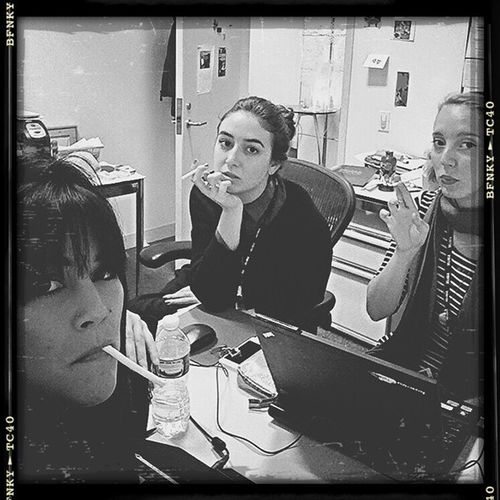 Film noir or French film? 🚬 Femmefatales Jenesaisquoi Tripleindemnity Smokingsection productive regram from @kiki_kins1