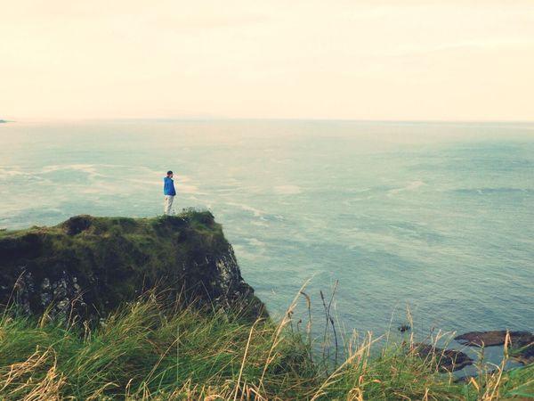 Ocean Ireland Coastline Beauty In Nature Tinypeopleinbigplaces Horizon Over Water Scenics