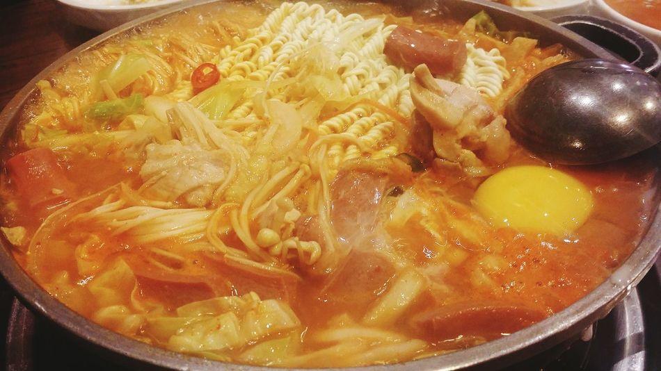 Budae Jjigae Army Stew Korean Food Foodphotography Singapore