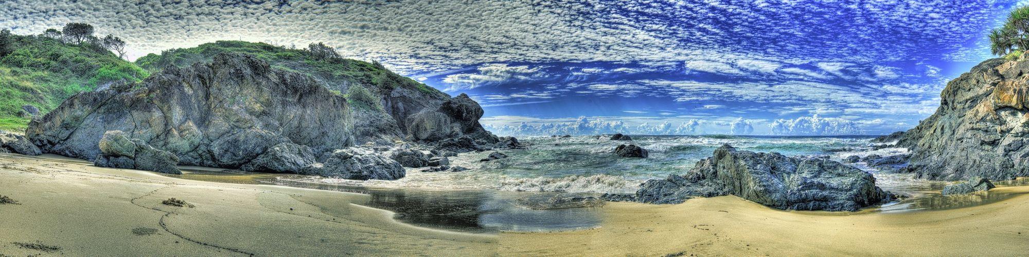 HDR Panorama Seascapes Port Macquarie Australia Beach Landscape Landscape_Collection EyeEm Best Shots - Landscape Seascape