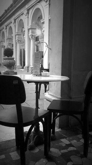 Coffee Cafe Bistrot Bistro Pretoebranco Blackandwhite I've changed my mind ... Monochrome Motog Mobilephotography