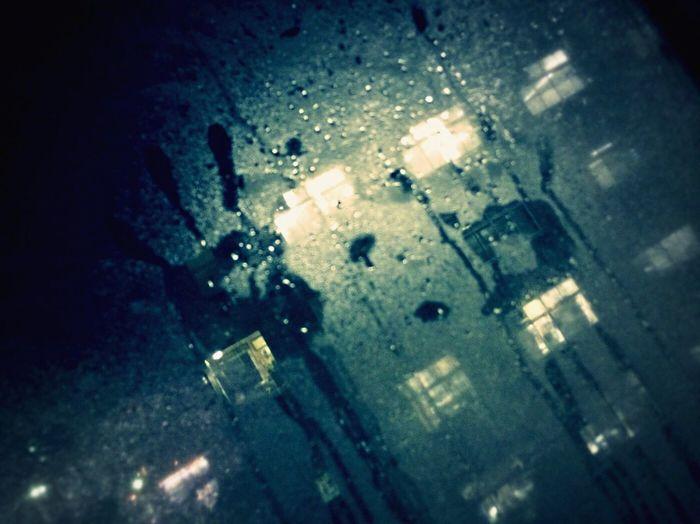 Night Human Hand Drop Dew Condensation Handprints No People Close-up Day