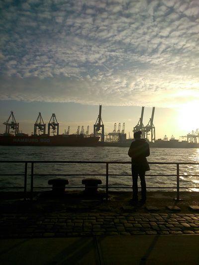 Stand For Land Hamburg Harbour No Edit/no Filter Wunderontour
