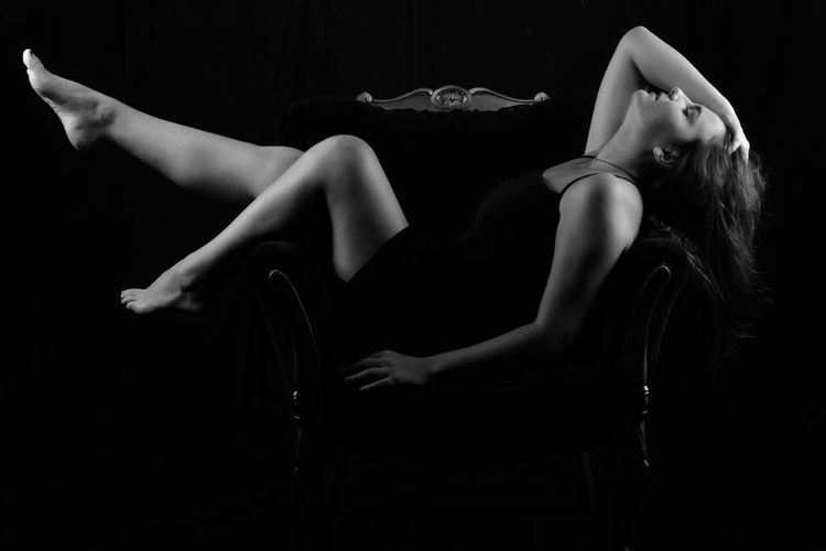 Dominance Portrait Studio Shot Blackandwhite Black & White Portrait Of A Woman Woman Model