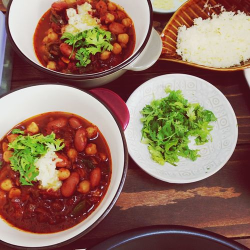 Homemade Chili Beans! yum! Mexican Food Americanfood Comfortfood Chilibeans