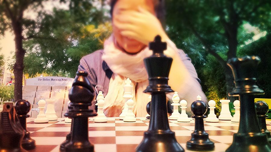 Chess Date today was fun :), She actually beat me though by surprise too >_>