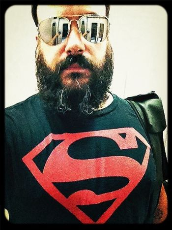 Superman Man Of Steel Beard