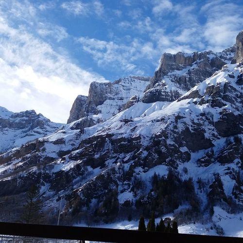 Schöne Berge Berge Sommer Alpen