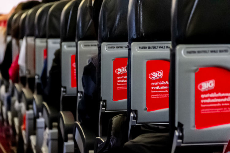 Seats Red In A