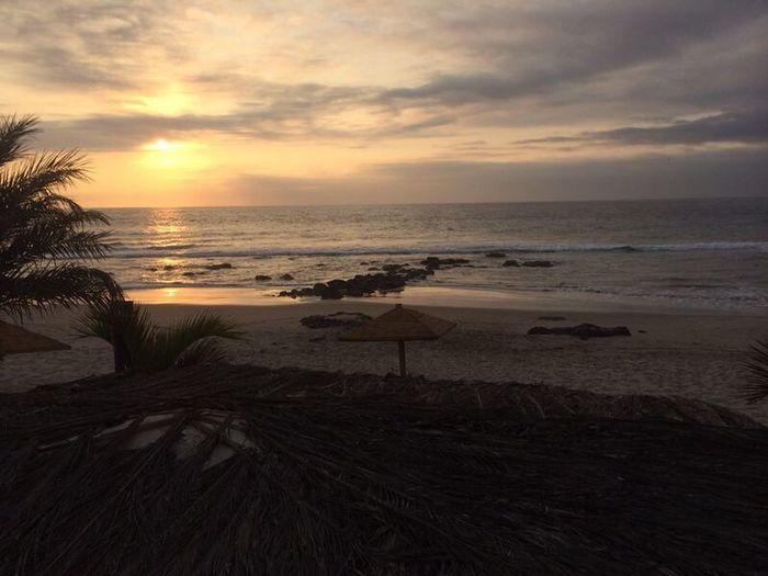 Que atardecer para mas hermoso -punta sal Tumbes Peru Puntasal