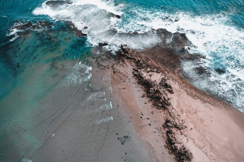 Ocean views Drone  Aerial Landscapes Wonderful Amazing Beautiful Rocks Waves Beach Ocean Travel Day Land Beach Wet High Angle View Sea No People Close-up Outdoors Sand Lifestyles A New Perspective On Life
