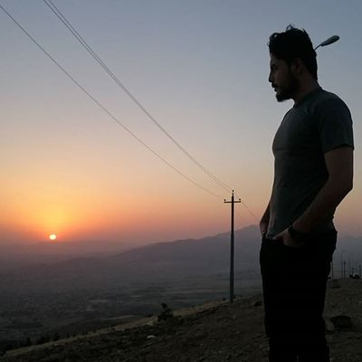 Sunset 🌇 What a beautiful view at Azmar mountain 🗻 Me Sunset Kurdistan Kurdish Kurd Mountain Romanticview