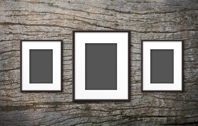 blank photo frame on the wall Decor Decorating Home Mock Wall Background Backgrounds Blank Decorated Decoration Decorative Frame Gray Home Interior Interior Interior Design Memory Mock Up Mockup Photo Photo Frame Photo Frames Remember Remembering Remembrance