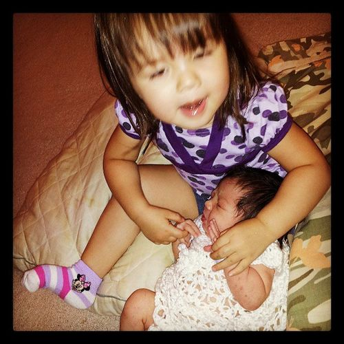 Cuties :) My Kids Sisters ❤